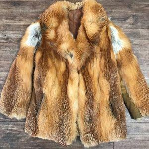 🔻SOLD🔻Red Fox Fur coat